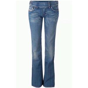 Diesel Mod Cherone distressed bootcut Jeans